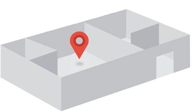 indoor exact map